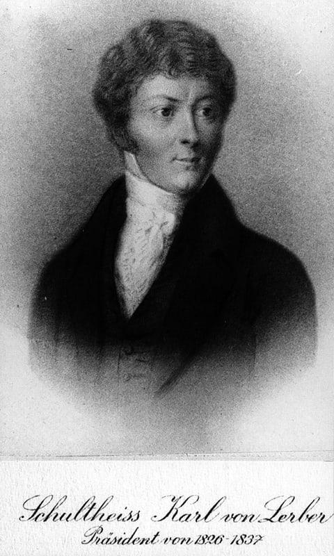 Karl Anton von Lerber von Arnex (1784-1837)