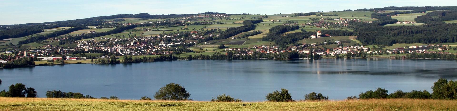 la région de Seetal et Rontal