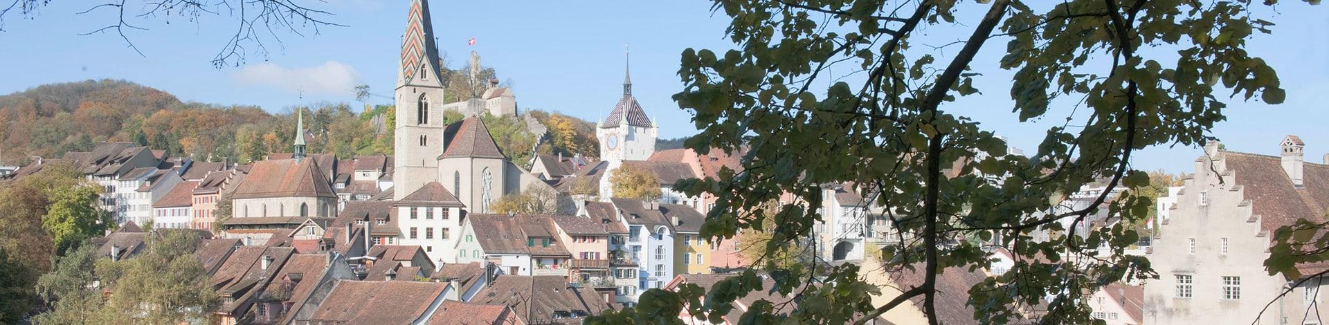 Aussicht Stadt Baden