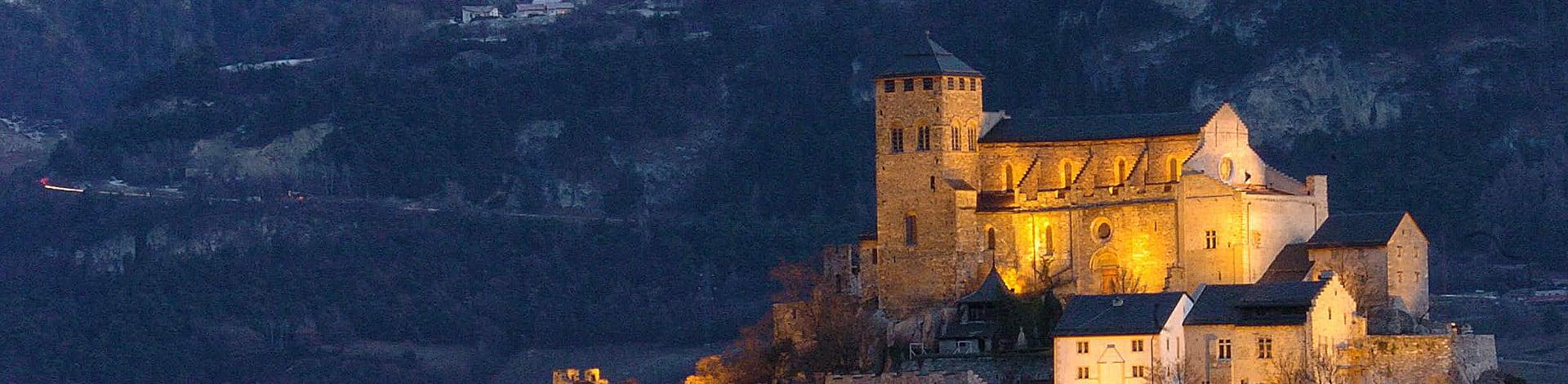il castello di Sion
