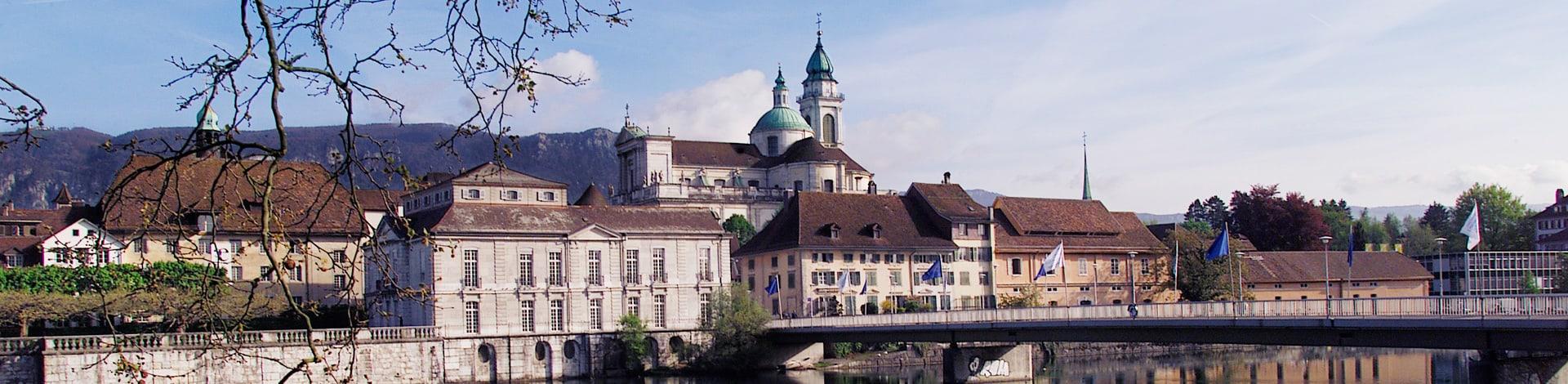 Aussicht auf die Stadt Solothurn