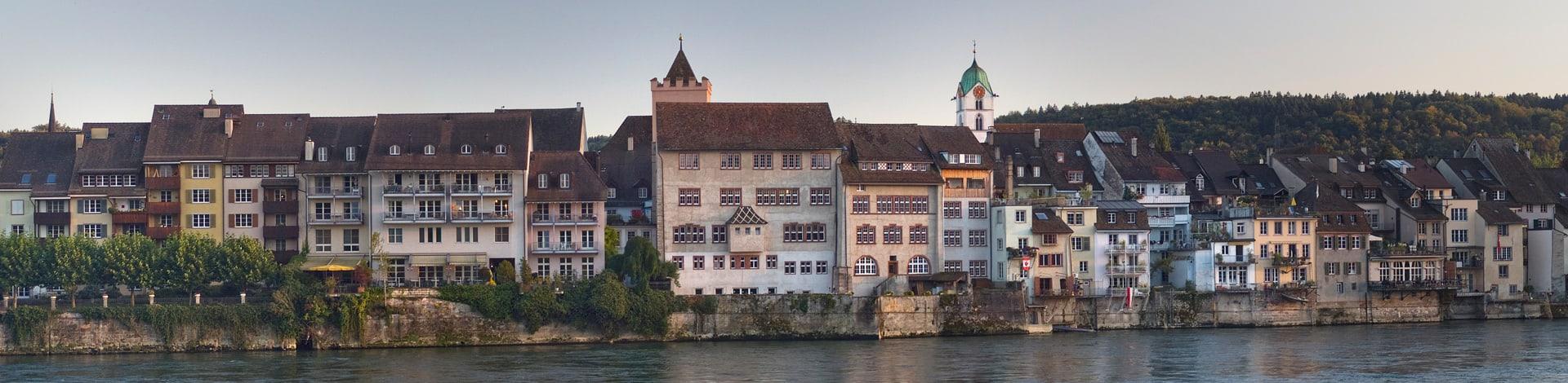 Aussicht auf Rheinfelden