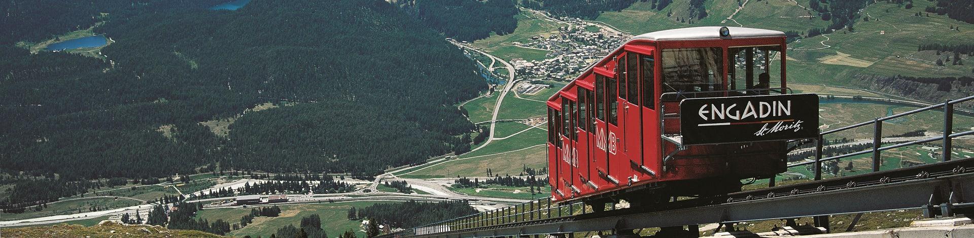 Zahnradbahn St. Moritz