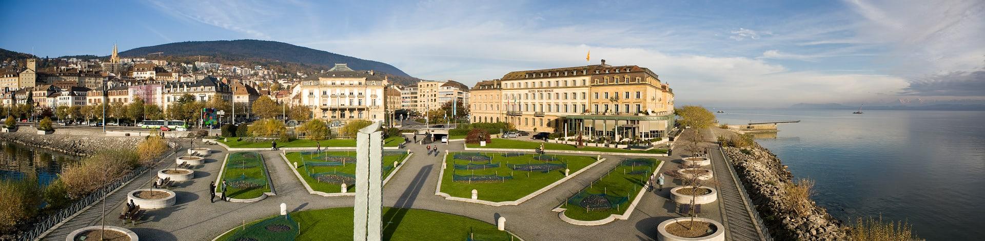 Il centro di Neuchâtel