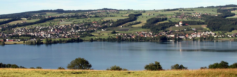 Aussicht auf die Region Seetal-Rontal