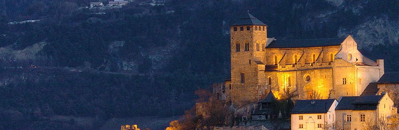 Schloss in Sion