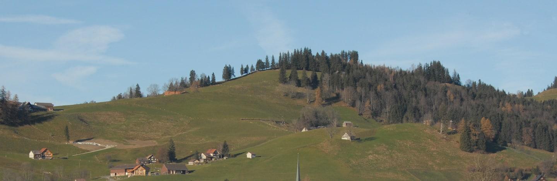 Hügel in Ausserrhoden