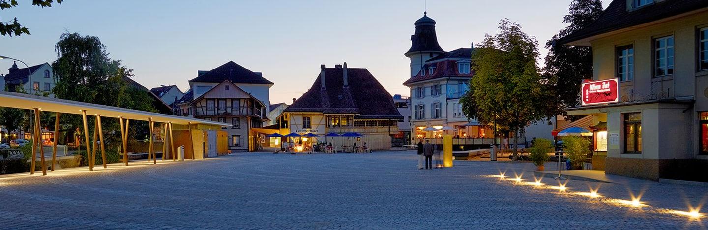 Platz in Langenthal