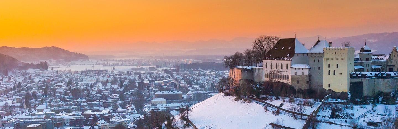 il castello di Lenzburg