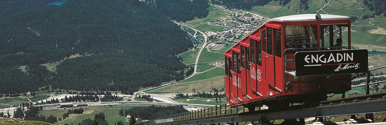 montagnes de St. Moritz