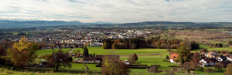 la région Wetzikon-Pfäffikon