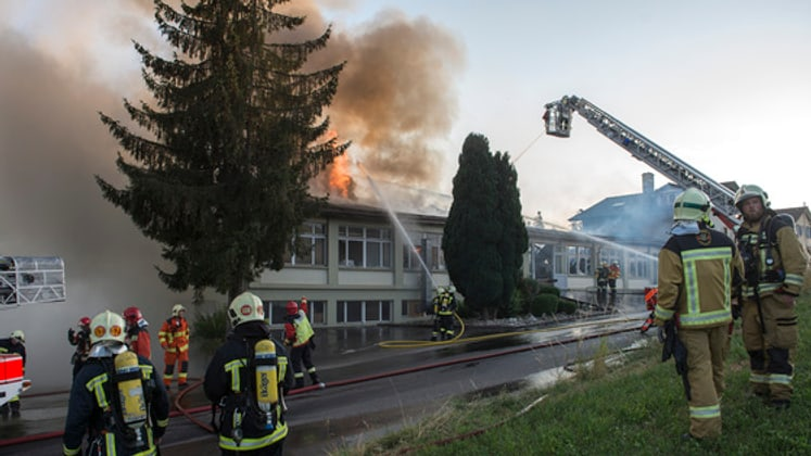 Brand in Affoltern