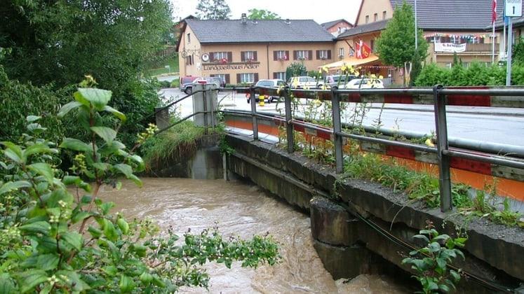 Hochwasserschutz Möhlintal