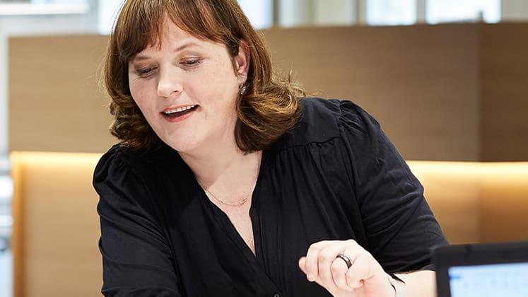 Sandra Cabanis, Teamleiterin Hinterlassenen-Leistungen, Nyon