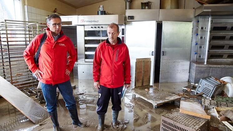 Wiederaufbau der Brunner Bäckerei in Dierikon LU