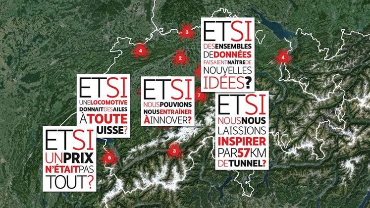 Carte générale des engagements